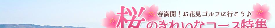 桜のきれいなコース特集2015