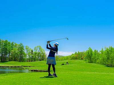 ルスツリゾートゴルフ72<br />いずみかわコースの写真