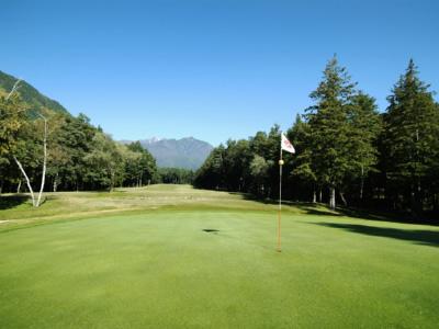 日向山高原ゴルフコースの写真