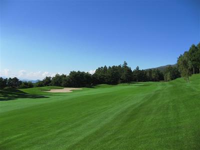 小諸高原ゴルフコースの写真
