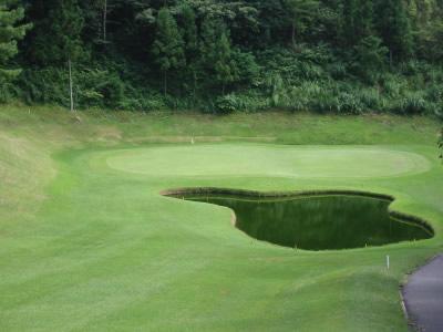 ゴルフコースの様子