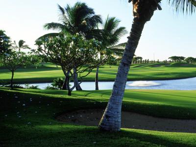 カポレイゴルフコース(ハワイ オアフ)