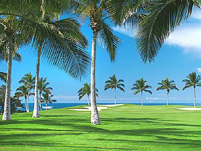 ワイコロアゴルフクラブ ビーチコース(ハワイ島)