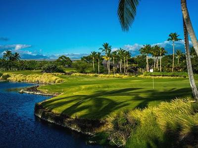 ワイコロアゴルフクラブ キングスコース(ハワイ島)...