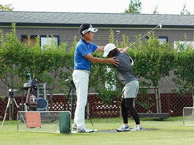 【レッスン】マックスゴルフアカデミー<br />(群馬)の写真