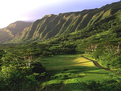 コオラウゴルフコース(ハワイ・オアフ)...