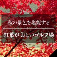 秋の景色を堪能する 紅葉が美しいゴルフ場特集