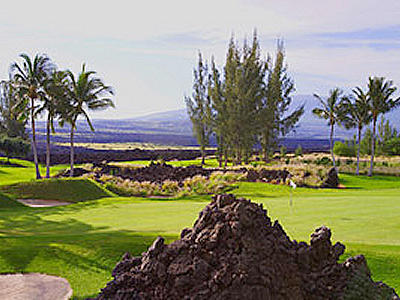 ワイコロアビーチゴルフ キングコース(ハワイ島)