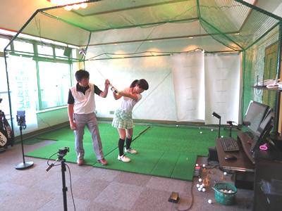 【レッスン】南筑波ゴルフ場