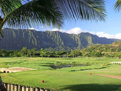オロマナゴルフクラブ(ハワイ・オアフ)