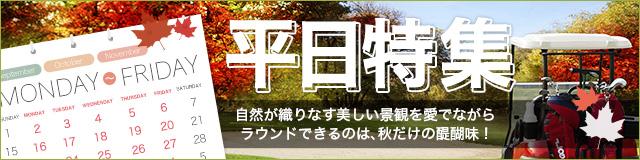 平日ゴルフ特集